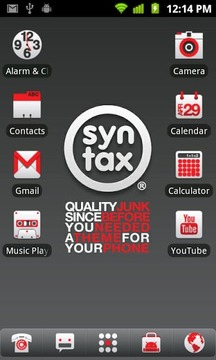 Syntax Records ADW Theme