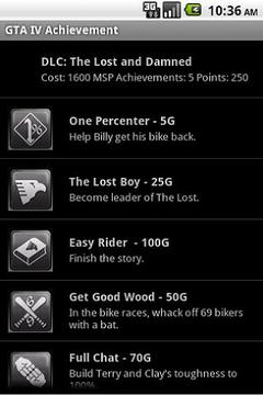 GTA IV Achievement 360