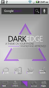 DarkEdge Purple (ADW Theme)