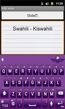 SlideIT Swahili Pack