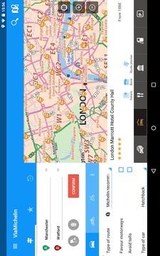 ViaMichelin: Route GPS Traffic