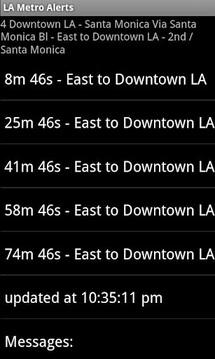 LA Metro Alerts