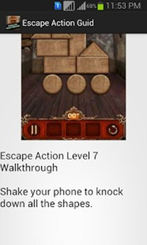 Escape Action Guide