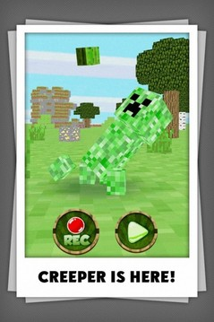 Talking Minecraft Creeper