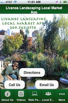Livanos Landscaping app
