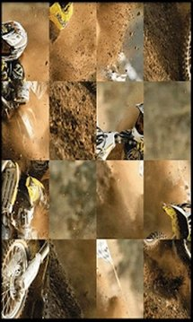 Motocross Puzzle Jupe