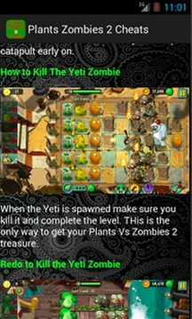 Cheats Guide Plants Zombies 2