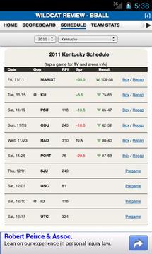 Kentucky Football & Basketball