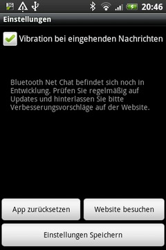 Bluetooth Net Chat