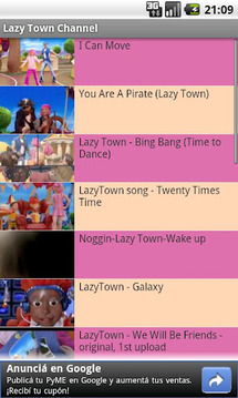 Lazy Town Channel