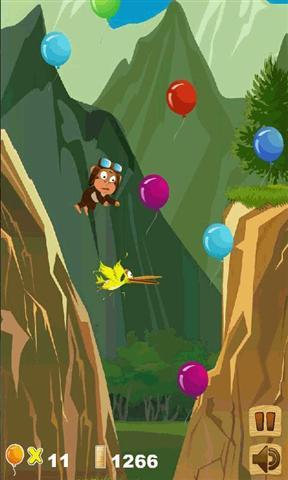 森林气球背景墙