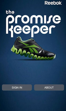 Reebok the Promise Keeper