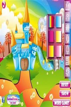 公主城堡装饰