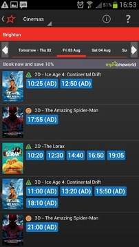 Cineworld Cinemas - Official