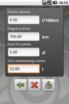 PaliKalk - Kalkulator paliwowy