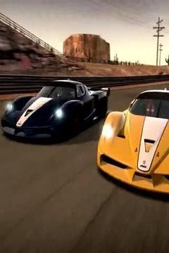 Ferrari Race On Circuit