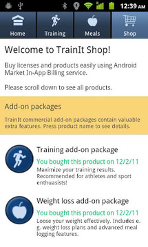 TrainIt Multisport Tracker