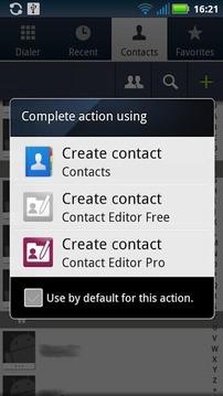 Contact Editor Free