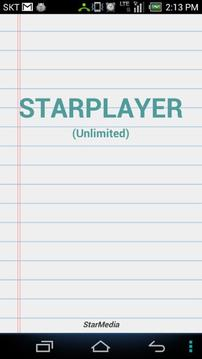 StarPlayer - 无限