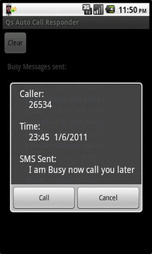 呼叫回应 Qs Auto Call Responder v1.6