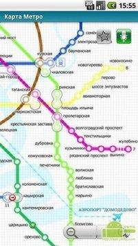 莫斯科(程式化的地图#1)