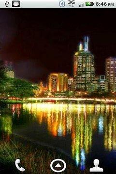 Cityscape HD Live Wallpaper