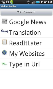 Web Reader & Translator