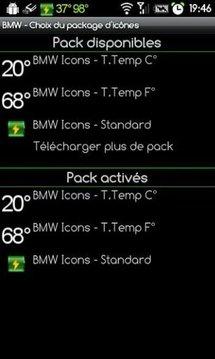 BMW Icons - T.Temp F°