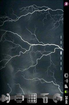 Lightning Theme GO Launcher EX