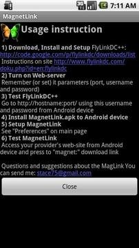 MagnetLink - DC++ support
