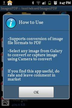 Image to PDF Converter Demo