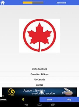 Guess Airline - Logo Quiz