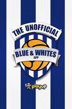 Blue and Whites App