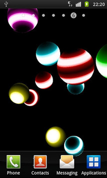NEON BALL 3D Live Wallpaper