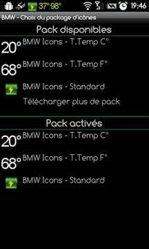 BMW Icons - Black XDA Circle Palin