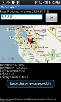 IP-Geolocator