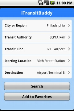 iTransitBuddy SEPTA Lite