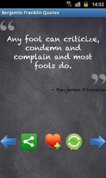 Benjamin Franklin Quotes FREE!