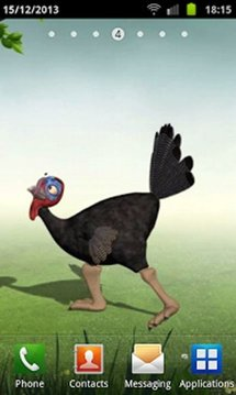Funny Dancing Turkey LWP