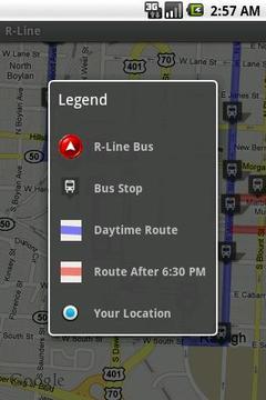 R -线 巴士定位