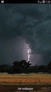 Real Lightning Storm