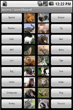 动物叫声音板