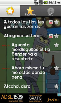 Bender Soundboard (Español)