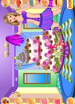 啦啦队 - 蛋糕装饰
