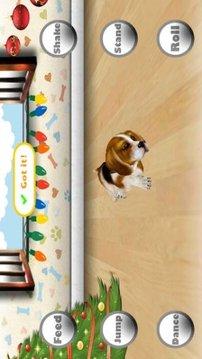 3D Virtual Christmas Pet Dog