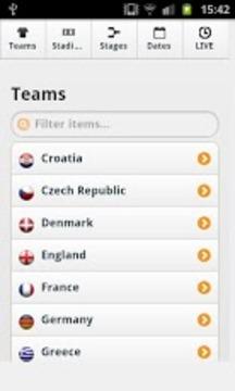 2012欧洲杯比赛日程表