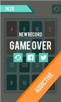 2048 Tetris Number