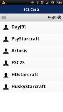 Starcraft 2 Casts