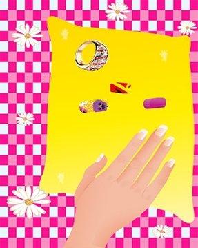 魔术 钉子 游戏 为孩子