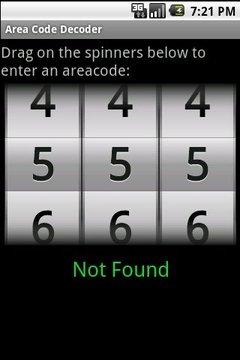 区号解码器